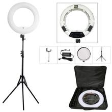 "Yidoblo weiß FS-480II 5500 Karat Dimmbare Kamera Pro 2 farbe einstellbar 18 ""55 Watt 480 Led-ringlicht Led-lampe + 200 cm stativ + Tasche Kit"