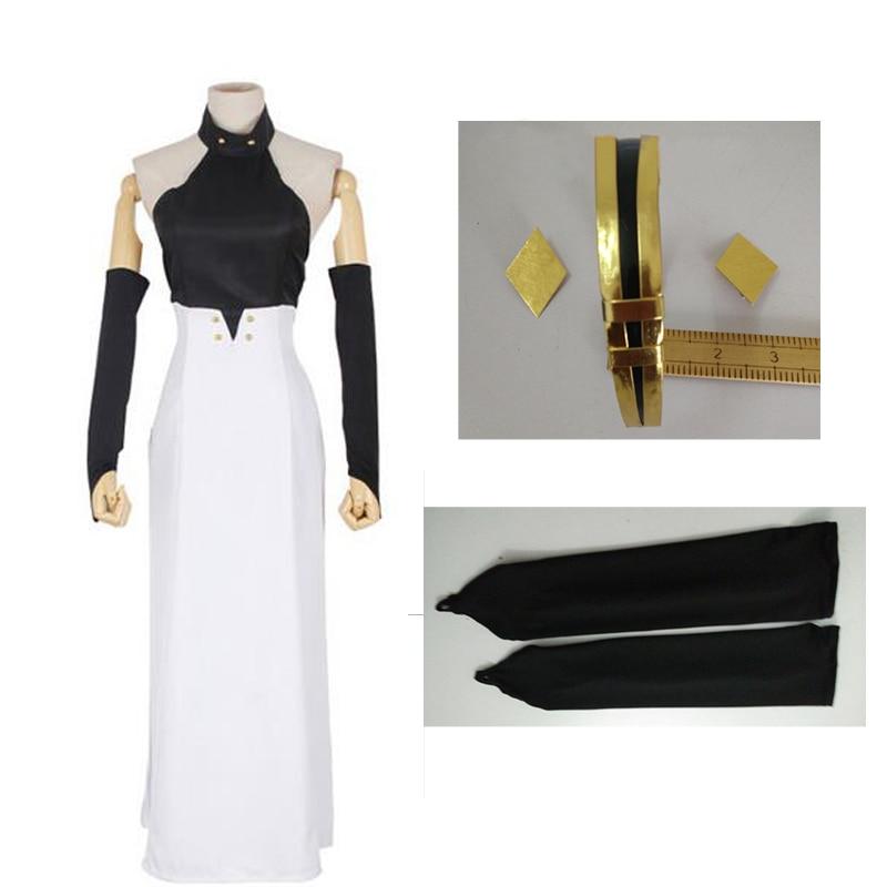 Seraph of the End Vampire Asuramaru Black White Dress