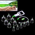 Fashion Hot! Chinese Great Medical Body Healthy Care 12Cups Kit Cupping Therapy Cups Beauty & Health