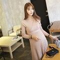 2017 Беременных Dress Одежда Для Беременных Длинные Беременных Платья Для Кормящих Dress беременность одежда для Беременных