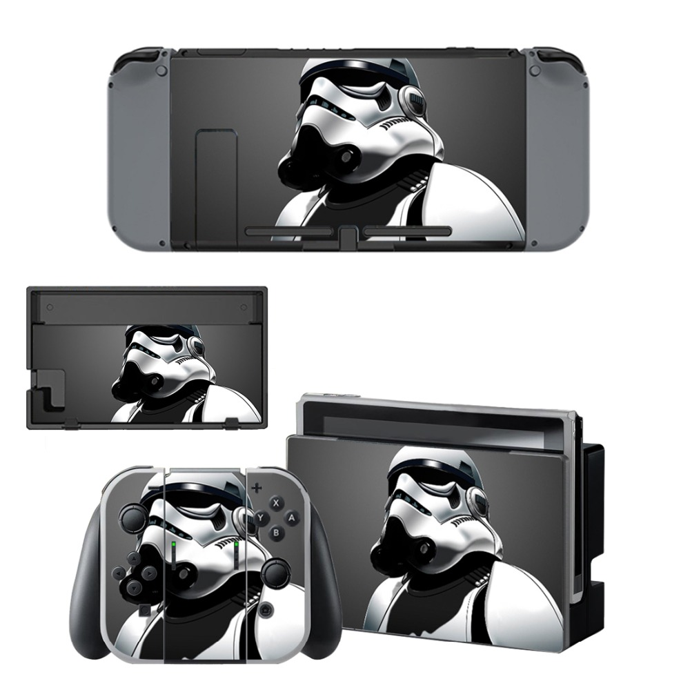 Nintend Switch Vinyl Skins Sticker For Nintendo Switch Console and Controller Skin Set -Star Wars