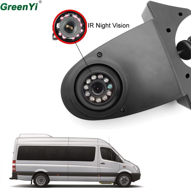 GreenYi CCD HD Car Back Rear View Parking Camera For Benz Mercedes GLK/GLC/GLE/GLA/ML Sprinter Viano Vito VW Crafter T5 Master переходная рамка incar rmb n06w для mercedes a в vito clk viano sprinter крепеж