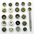 50 sets per package .Jeans buckle. Buttons. Men and women buttons. Metal buckle. Buttons, Buy button send installation tools