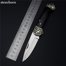 Stenzhorn 2017 New Arrival Real High Quality Outdoor Folding Knife Self-defense Wilderness Survival With Hardness Wild Fruit All