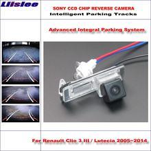 Автомобильная камера заднего вида для renault clio 3 iii lutecia
