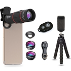 APL-18DG3ZJB Cell Phone Camera Lens Kit 18X Telescope with Tripod Stand
