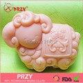 Форма для мыла  декоративная форма для торта  ручная работа  форма для мыла  горячий зодиак  имитация овцы  силикон  No.s406-1  ароматические камн...