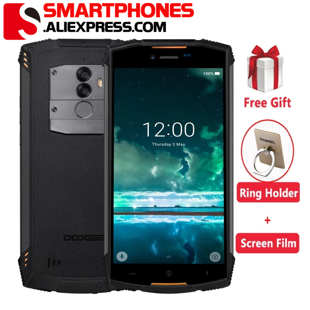 Original Doogee S55 4G LTE Dual Sim IP68 Smartphone Android 8 0 Octa Core 4G 64G