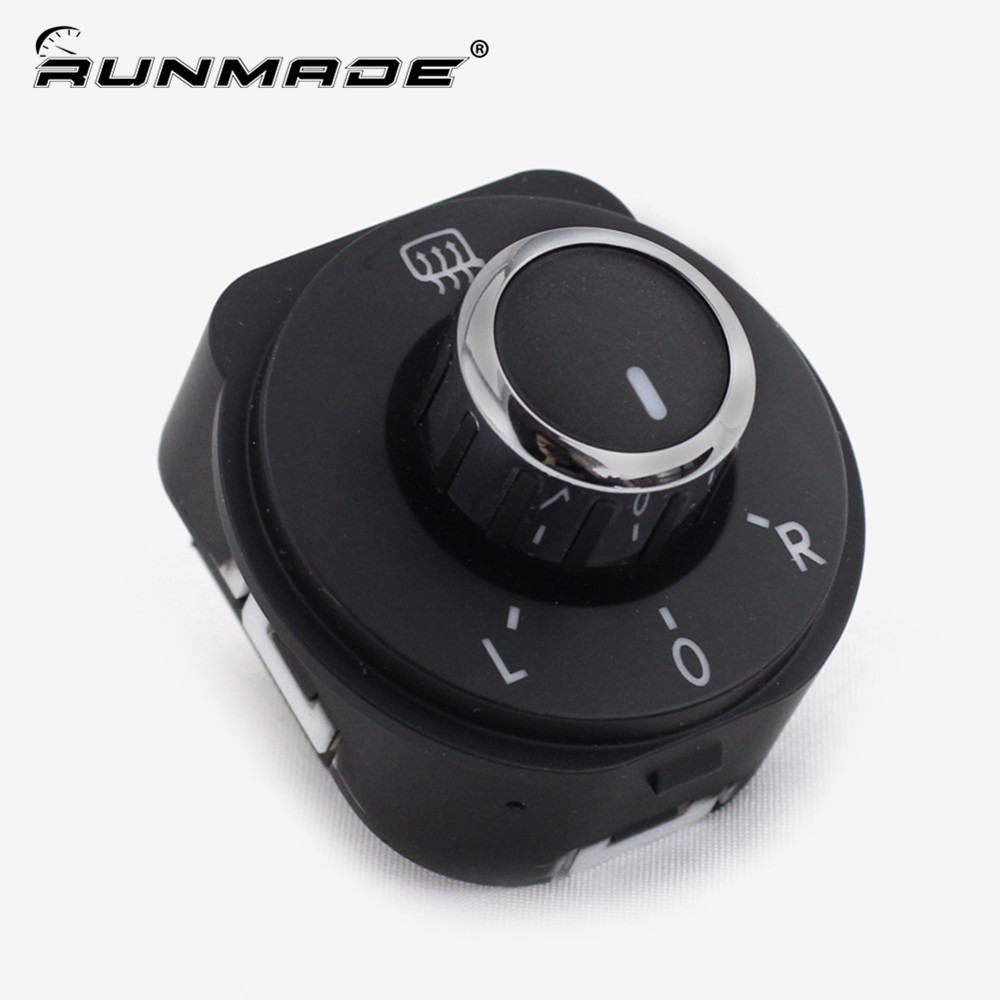 runmade For 2011 2016 Volkswagen VW Polo 6R Rear Side Mirror Switch Control 6RD 959 565B 6RD959565B