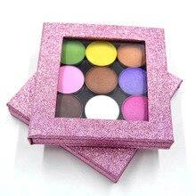 2017 New Fashion Empty Magnetic Palette Eyeshadow Blush Lips