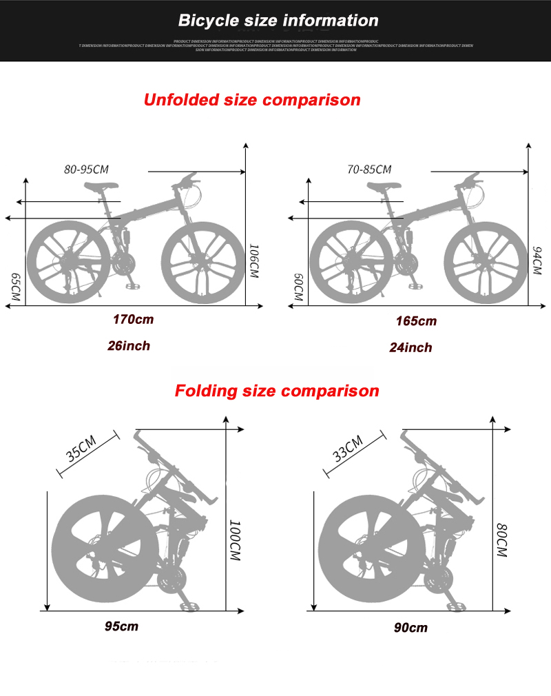 HTB1FWJiSwHqK1RjSZFgq6y7JXXas 24 26inch folding mountain bike 21 speed double damping 6 knife wheel and 3 knife wheel bicycle double disc brakes mountain bike