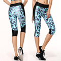 high leastic print 3D yuga leggins fashion   pants tight skinny slimming legs  quick dry