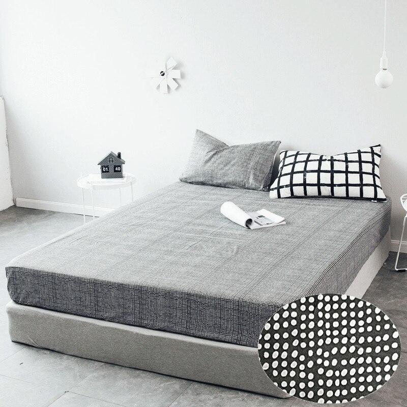 1pcs 100% памук черно-бял облечен листа - Домашен текстил - Снимка 2