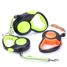 3M/5M Retractable Dog Leashes Automatic Extending Nylon Reflective Leash For Small Medium Dogs Walking Leads Pet Supplies