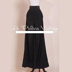 Le Palais inverno Vintage in edizione limitata retrò del tutto-fiammifero elegante a vita alta significativamente sottili pantaloni gamba larga