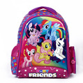 2016 kids cartoon my little pony children school bags for girls lovely backpack schoolbag minions child mochila escolar infantil
