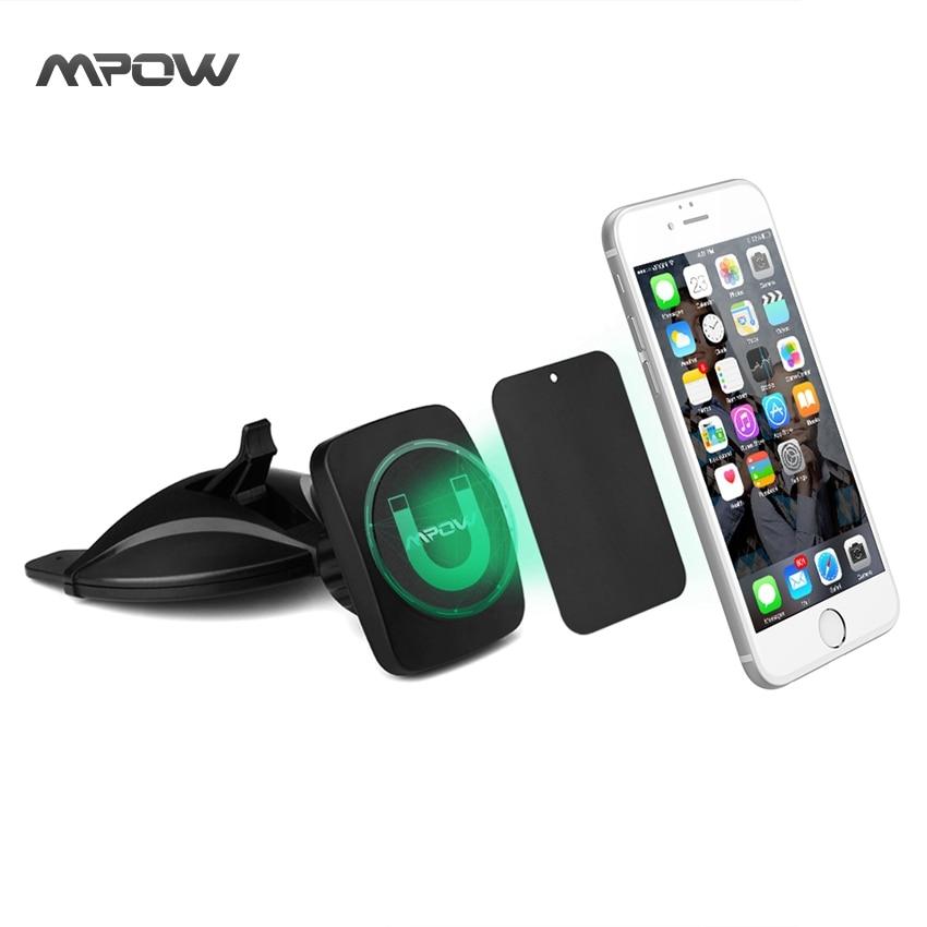 imágenes para MPOW CD Slot Car Mount Holder 360 Grados Magnética sostenedor Del Teléfono Del Coche titular Sostenedor de los GPS Universal para iPhone 6 s 6 más Inteligente etc teléfonos