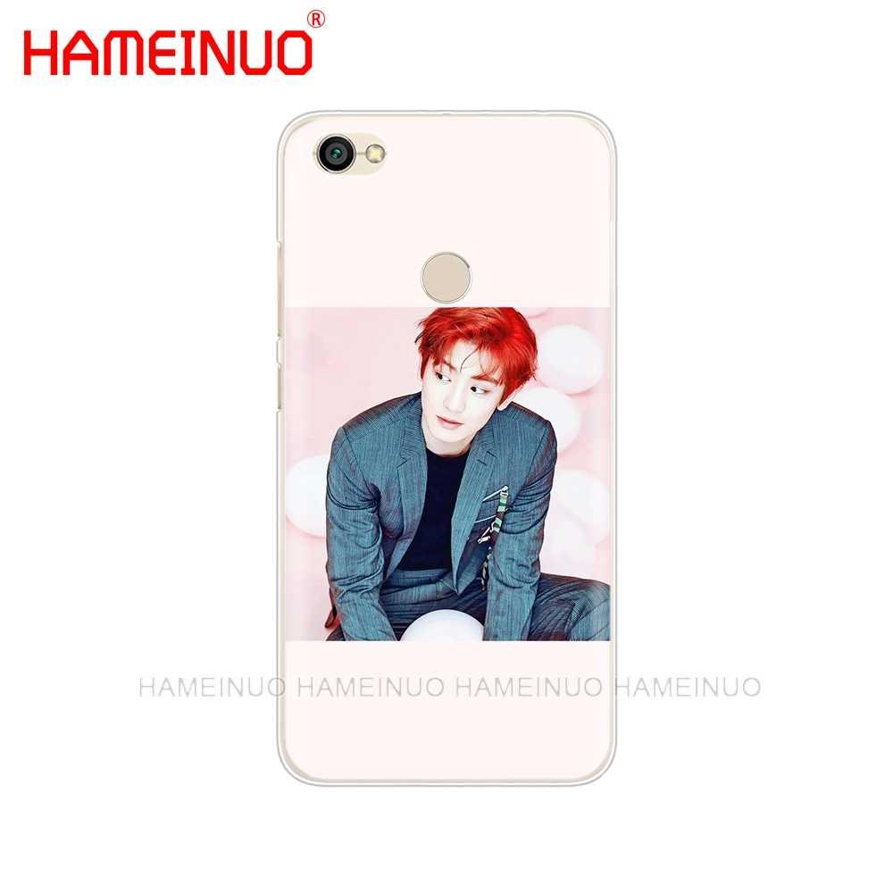HAMEINUO ЭКЗО Лухан парк Chanyeol чехол для телефона для Xiaomi redmi 5 4 1 1 s 2 3 3 s pro плюс redmi note 4 4X 4A 5A