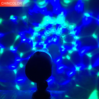 USB Mini Led Stage Light DC5V With 4M USB Wire Multi Color For KTV Xmas Party