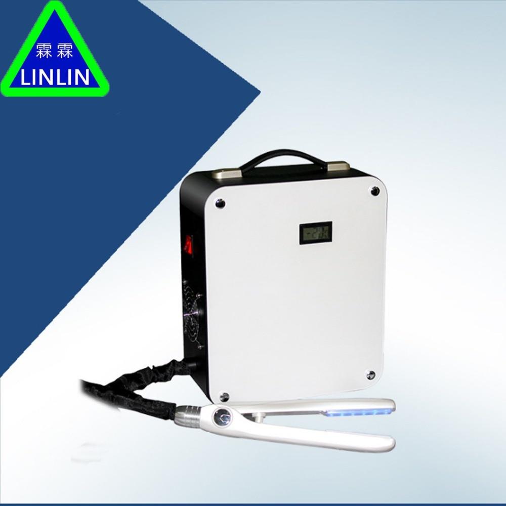 LINLIN Ice-selado Blu-ray LED Protetor Protetor de Gelo-selado Cabelo Cabelo clipe De Gelo terapia atualização Reparação e depilação enfermagem