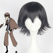 Anime Bungo Stray Dogs Cosplay Wigs Ranpo Edogawa Wig Synthetic Hair Halloween Party Bungou