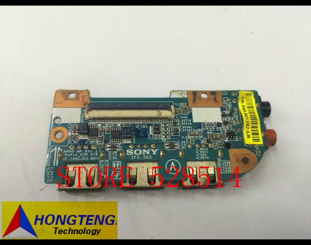 1P-109CJ03-8011 FOR Sony Vaio VPCEA VPCEB VPCEC IFX-565 IFX567 USB Audio Sound Board 100% Test ok foton lovol tractor parts the td824 bearing part number 7016ac