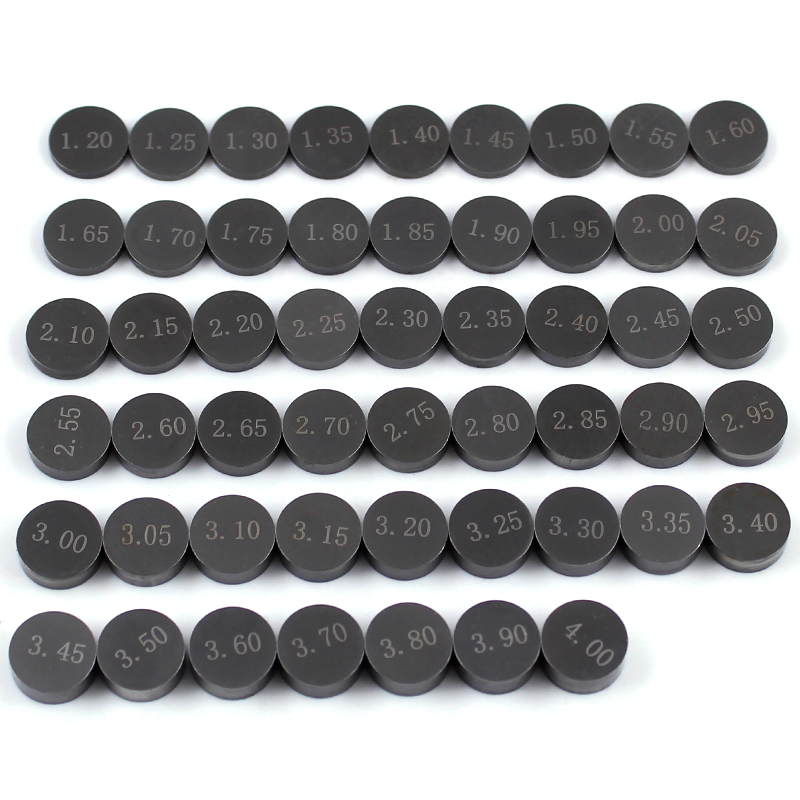 52pcs 208pcs 46pcs Adjustable Valve Shim 9 48mm Refill Kit For Honda CRF450 R CRF450R CRF