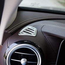 Автомобиль передней панели вентиляционное отверстие розетки кондиционер Планки Рамка стикер для Mercedes Benz E Class W213 2016