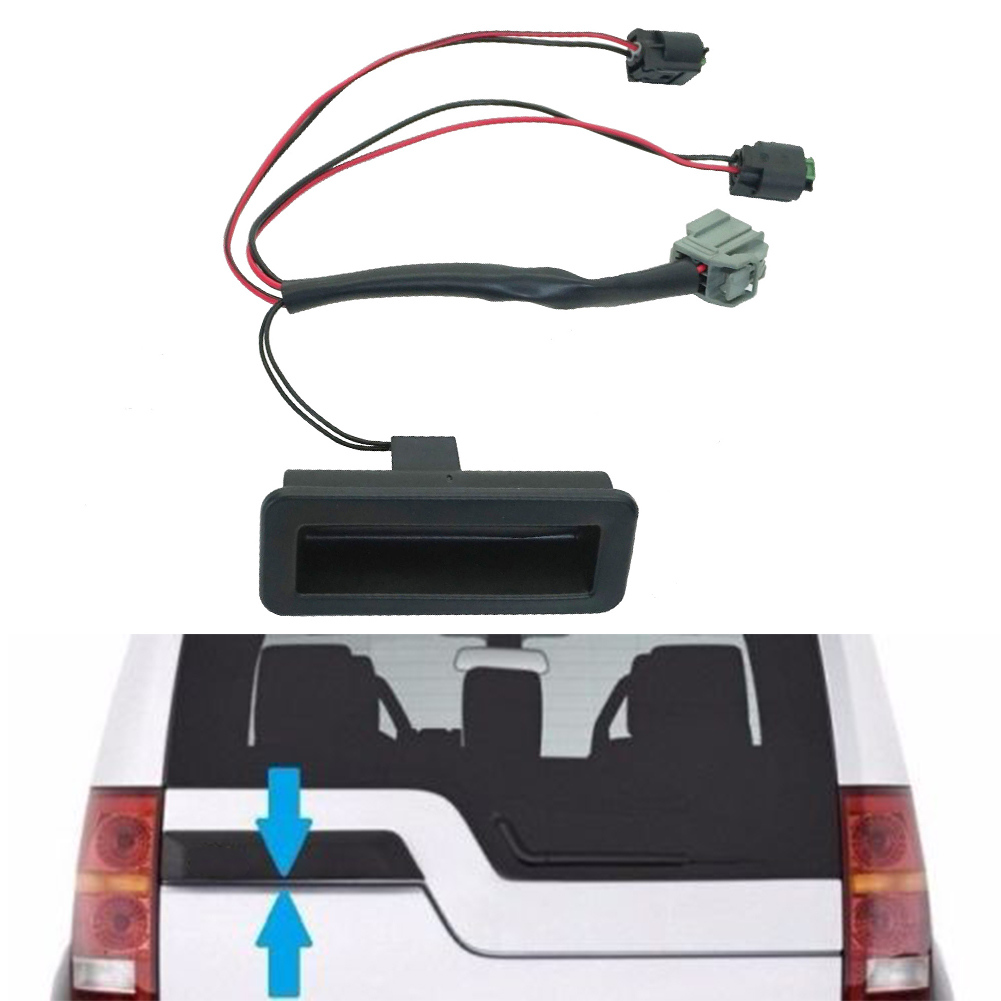 Us 15 36 13 Off Switch Handle Boot Parts Car Trunk Tailgate Repair Kit Black Replacement For Land Discovery 3 4 In Car Switches Relays From
