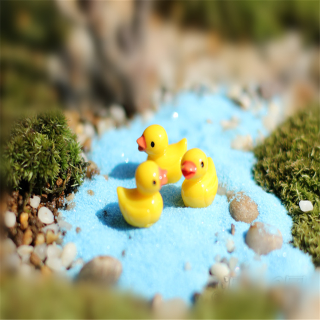 hot sale mini duck manualidades miniature garden fairy garden miniatures duck miniature fairy garden decorations crafts