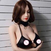 Hdk 150 см Силиконовые Секс-куклы робот большой груди японский реалистичные Love Sex голову куклы Реалистичные полные Средства ухода за кожей для ...