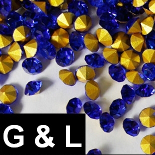 Ss11.5-ss25 Sapphire Color Pointback Rhinestones Glass Material Beads Used For Jewelry Nail Art Decoration ss11 5 ss25 siam color pointback rhinestones glass material beads used for jewelry nail art decoration