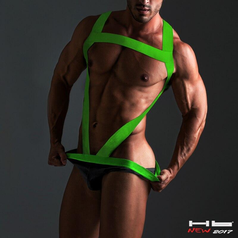 Hb Marque G-strings Hommes frais Chinois Conception Mankini Sexy Pénis Pantalon Hommes Sous-Vêtements Gay Strings Courageux Personne Lingeries homme