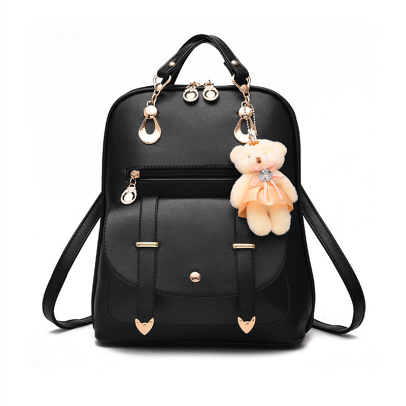 Multifunction, Female, Backpack, Style, Lovely, Cartoon