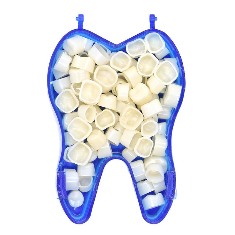 2 Boxen / Pack Zahnkrone Hülse für Frontzähne und Seitenzähne - Mundhygiene