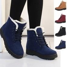 Frauen Winter Stiefel 35-42 Pelz Schnee Stiefel Frauen Stiefeletten Schuhe 2016 Mode Warme Schuhe