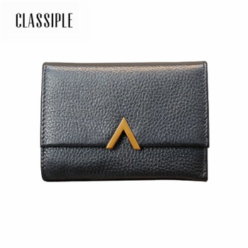 New Arrival Genuine Leather Wallets Women Cow Leather Wallet Lady Mini Card Holder Wallet Female Credit Card Coin Purse Girls