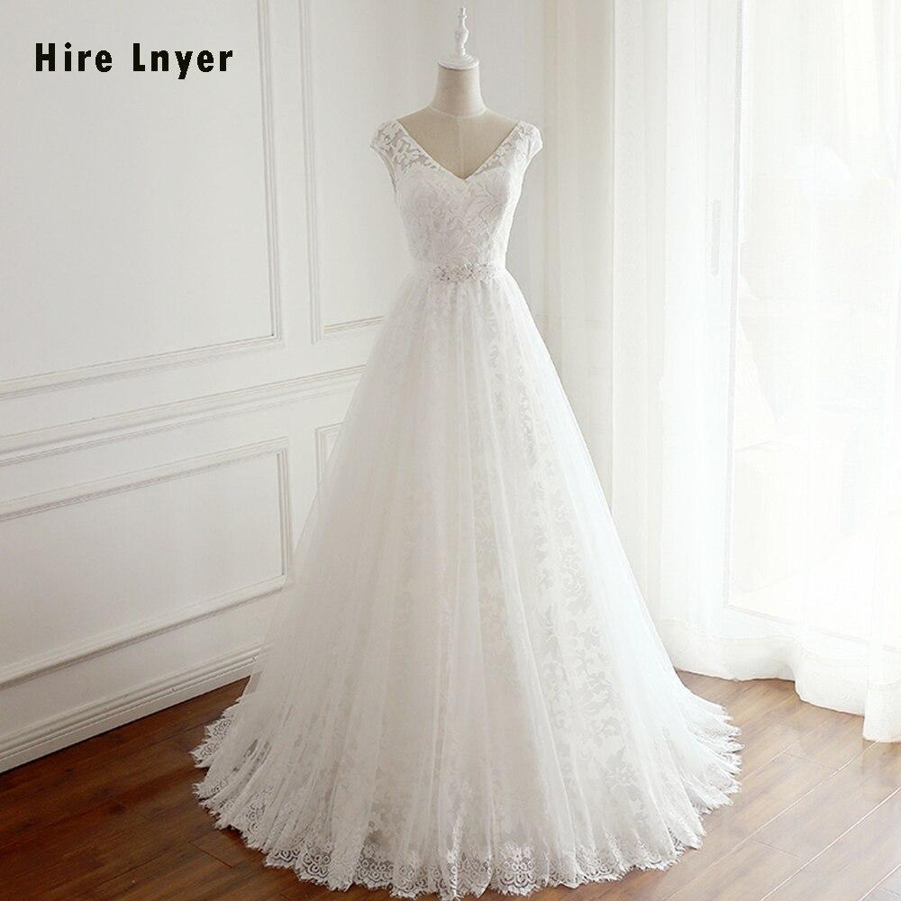 Aliexpress.com : Buy HIRE LNYER 2019 New Arrive Gelinlik V