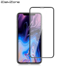For iPhone 9 XR XS Max 6 1 5 8 6 5 inch Full Cover Tempered