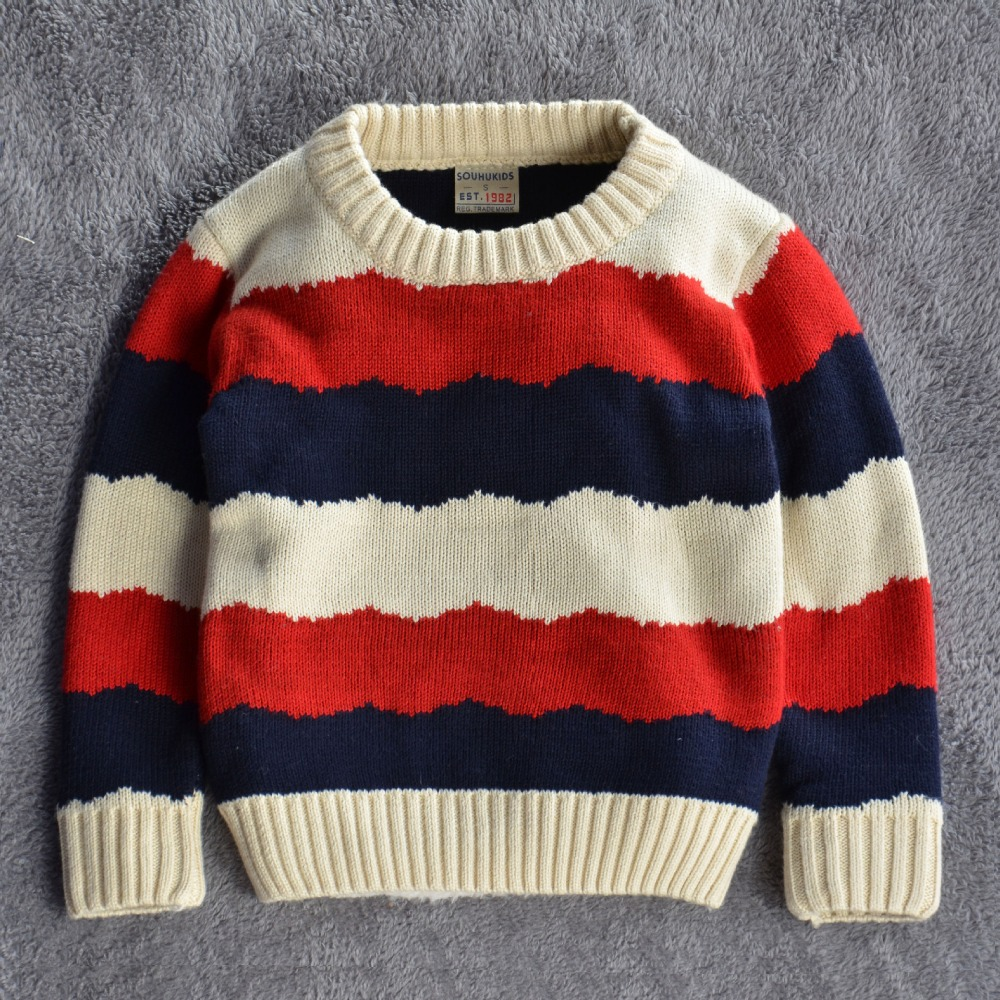 Baby Boys Mixed Color Pullovers Korean Casual Kids girls Kinitted Polo Sweaters  Children Sueter De Ninos