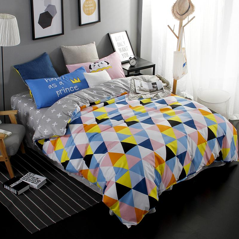 Summer Style Bedding Cotton Set Twin Full Queen Size Duvet