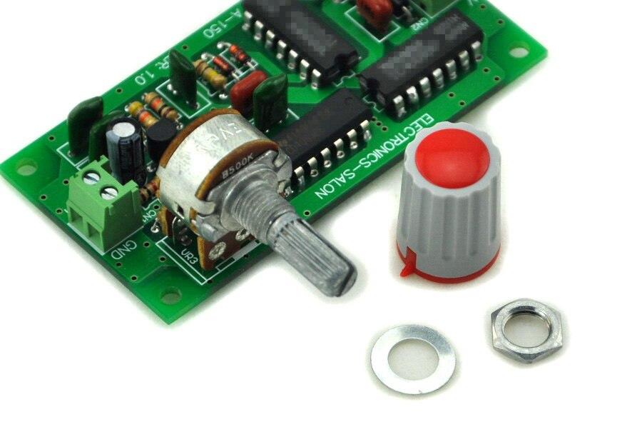 Электроника-салон розовый Шум модуль генератор, собранный.