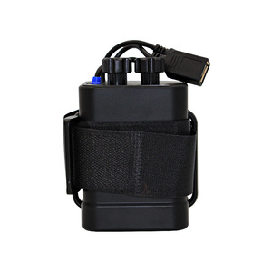Image 1 - Waterproof Plastic 6x 18650 Battery Pack Case Holder Cover DC/USB Output For Bike Bicycle light Lamp And Mobile Phone