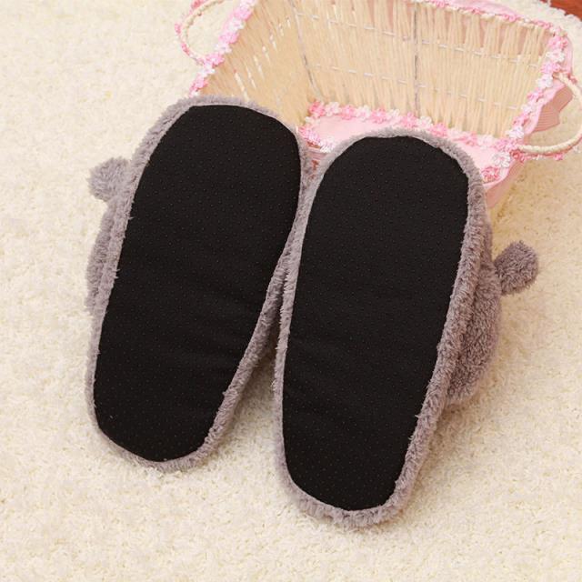 Cute Totoro Plush Slipper