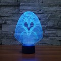 3D ночник Сова ночник в спальне настольная лампа домашняя Светодиодная лампа ночное освещение тусклый 7 цветов меняющий светодиодный ночник...