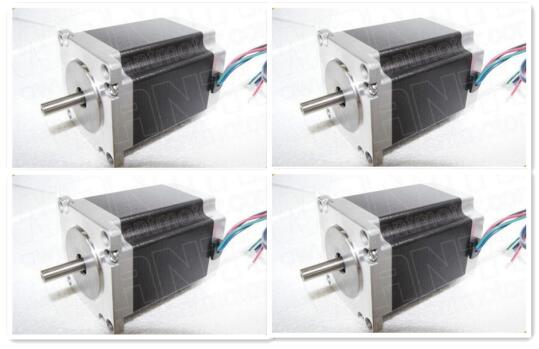 Hot Sell!cnc router 4pcs 56mm 2A 6Lead Wires Nema23 Stepper Motor 57BYGH420 90N.cm 12.6Kg.cm/185oz-in engraving CUTTING MILLINGHot Sell!cnc router 4pcs 56mm 2A 6Lead Wires Nema23 Stepper Motor 57BYGH420 90N.cm 12.6Kg.cm/185oz-in engraving CUTTING MILLING