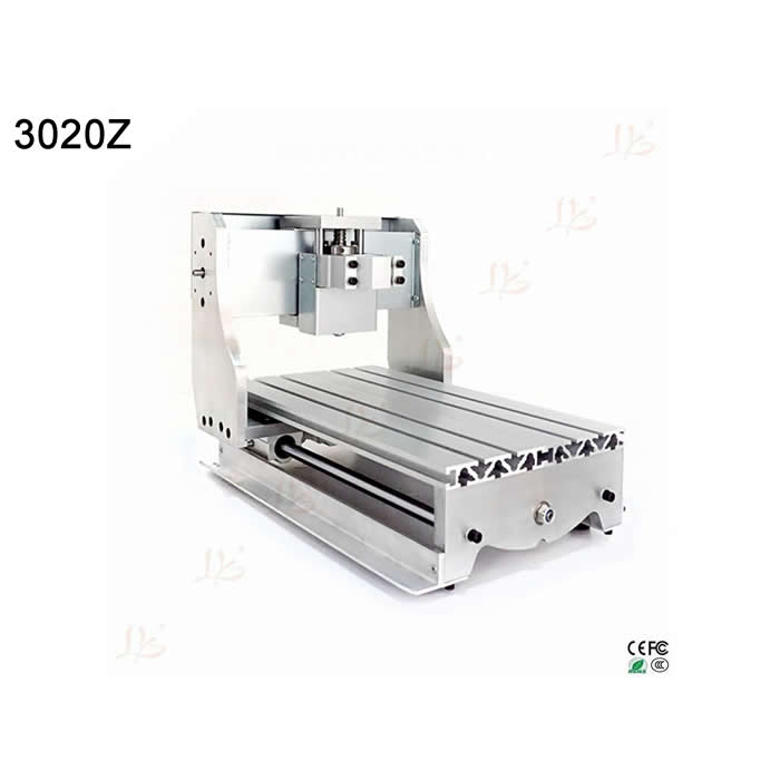 DIY cnc engraving machine 3020Z cnc frame with high precision Ball screw no tax mini desktop cnc milling engraving machine cnc 3020z d300 with ball screw and 300w spindle