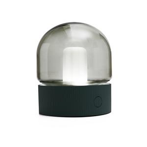 Image 5 - Vintage Glass Night Light USB Charging Retro Nostalgic Desktop Bulb Atmosphere Breathing Dimmable Nightstand Lamp Bedroom Decro