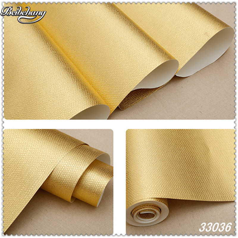 Beibehang Gorgeous Imitation Grass Pattern Gold Foil Wallpaper Ceiling Ceiling Hotel KTV Entertainment Gray Silver Wallpaper