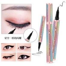 Liquid Eyeliner Pencil Easy To Wear Eye Liner Waterproof Eyliner Arrows Long Lasting Color Stamp Beauty Makeup Tool